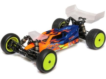 (TLR03016) TLR 22 5.0 1:10 2WD Dirt Clay Race Buggy Kit ...